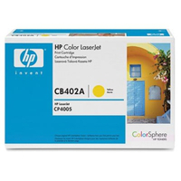 HP CB402A プリントカートリッジ イエロー(CP4005) 1個 (直送品)